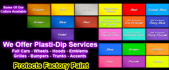 plasti-dip, painting, dip your car, dip your wheels